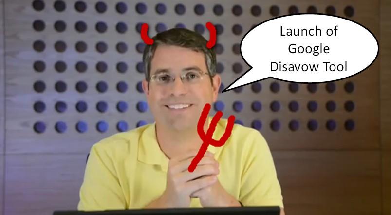 Matt Cutts announces Google Disavow Tool